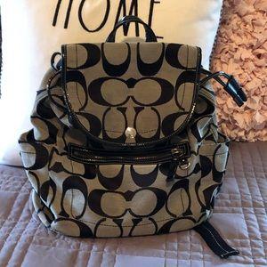 Coach backpack 🎒